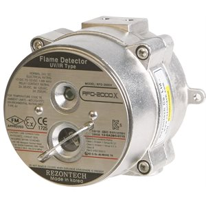 UV/IR Flame Detector (Stainless Steel)