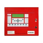 FN-LCD-N-RT - Network Anunciator with Trim Ring, Red