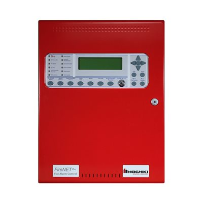FireNET® Plus Intelligent Addressable, 1 Loop, No dialer, Red, 120V