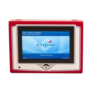 FireNET L@titude Annunciator, Red