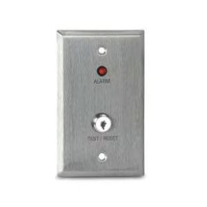 MS-KA/R Remote Alarm LED and Key Operated Test/Reset Switch