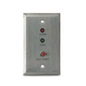 MS-RA/P/R Remote Alarm LED, Pilot LED and Push Button Test/Retest Switch