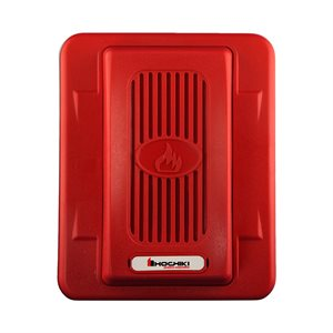 Horn 24VDC, Wall Mount, Red
