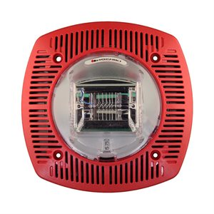 Speaker Strobe 24VDC, 15/75CD, Wall Mount, Red