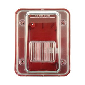 HGOE-R - Weatherproof Enclosure, Red (HEH, HES & WHE)