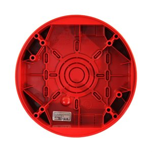 HCSB-R - Weatherproof Backbox, Round, Red (For use with HC Series)